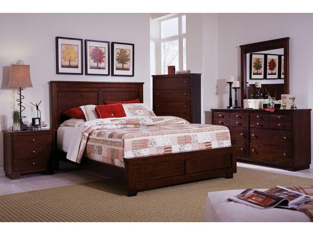 Progressive Bedroom Furniture Progressive Bedroom Diego Dresser And Mirror 61662 Bob Mills