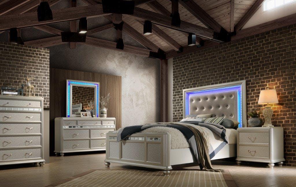 Avalon Bed Mirr Regency