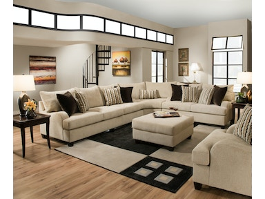 Beautyrest Living Room Trididad Sofa And Loveseat