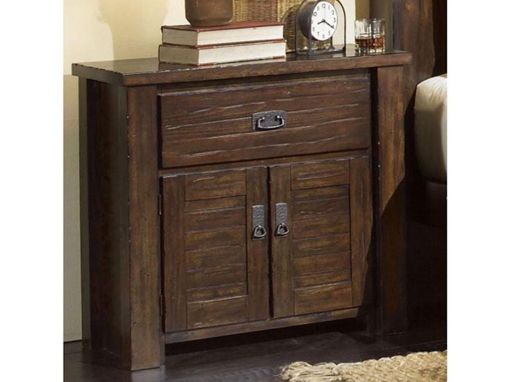 Progressive Trestlewood King Bedroom Group, 55\