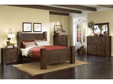 Trestlewood King Bedroom Group, 55&#34 HDTV FREE