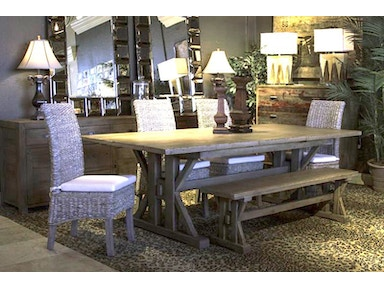 Four Hands Dining Room Tuscan Dining Group 96tuscan Bob