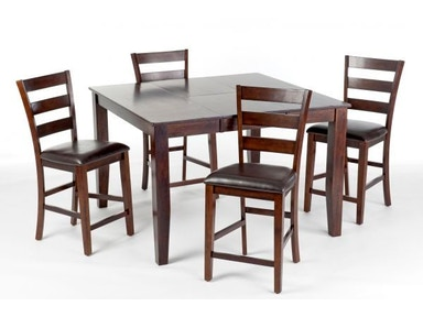 Kona Pub Table with 4 Chairs, 2 Pub Chairs Free