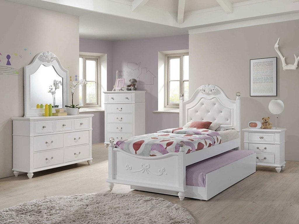 Alana Twin Bedroom Set, Mattress FREE!