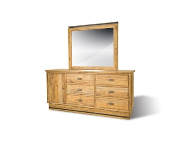 American Dresser and Mirror