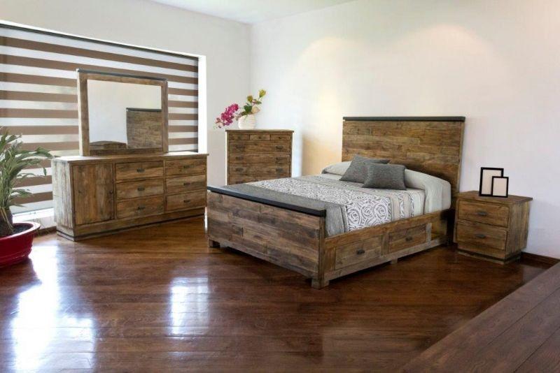 Urban Roads American Queen Bedroom Set Mattress Free