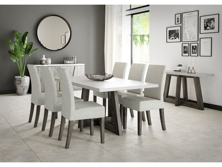 Austin Dining Room Table And Six Chairs
