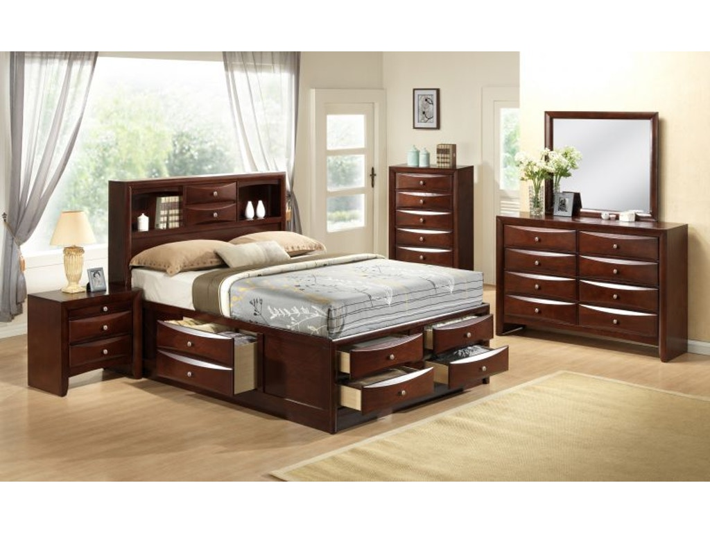 Beckett Queen Storage Bed  Two Nightstands Free. Bedroom Bedroom Sets   Bob Mills Furniture   Tulsa  Oklahoma City