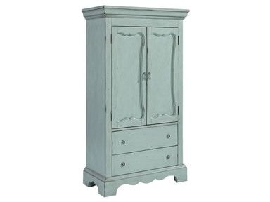 French Blue Armoire