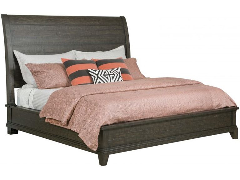 Kincaid Furniture Plank Road Charcoal King Bedroom Set