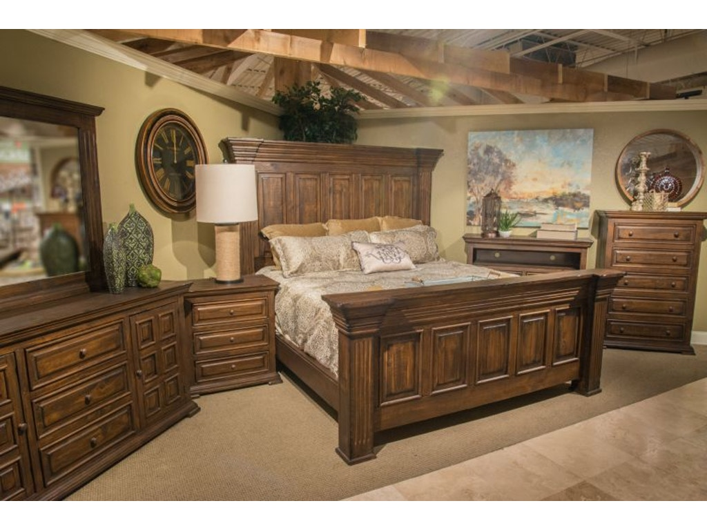 Urban Roads Isabella King Bedroom Set