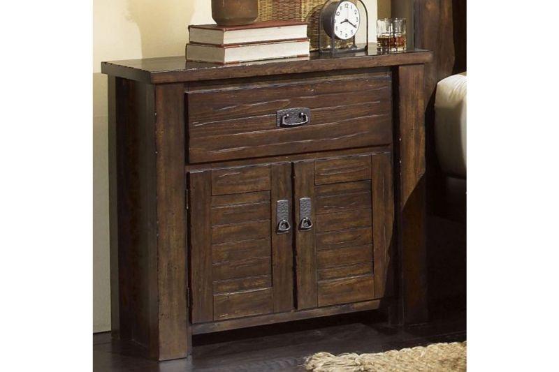 Progressive Bedroom Trestlewood Queen Set Mattress And 55