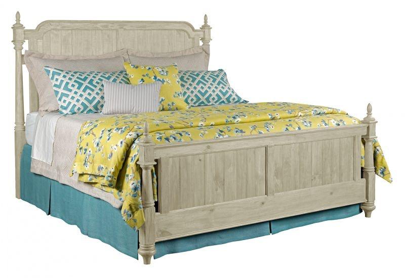Kincaid Furniture Bedroom Weatherford King Bed Rails