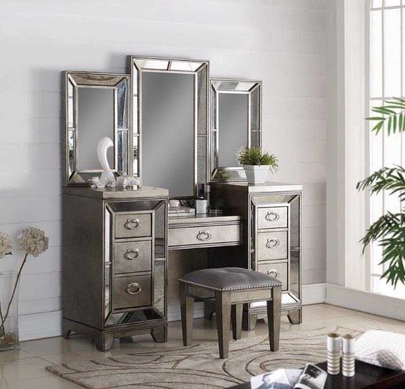 avalon bedroom lenox vanity with vanity bench free