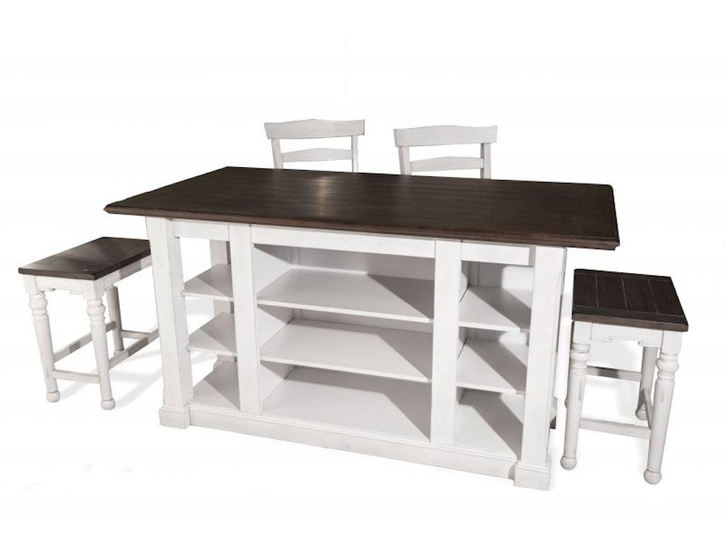 Amish Furniture Kitchen Island Sunny Designs Dining Room Bourbon Kitchen Island Din Island