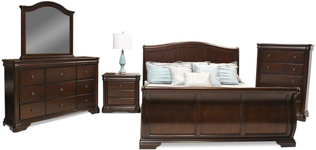 Red Barrel Studio Lauzon Elegant Bedroom 9 Drawer Dresser With