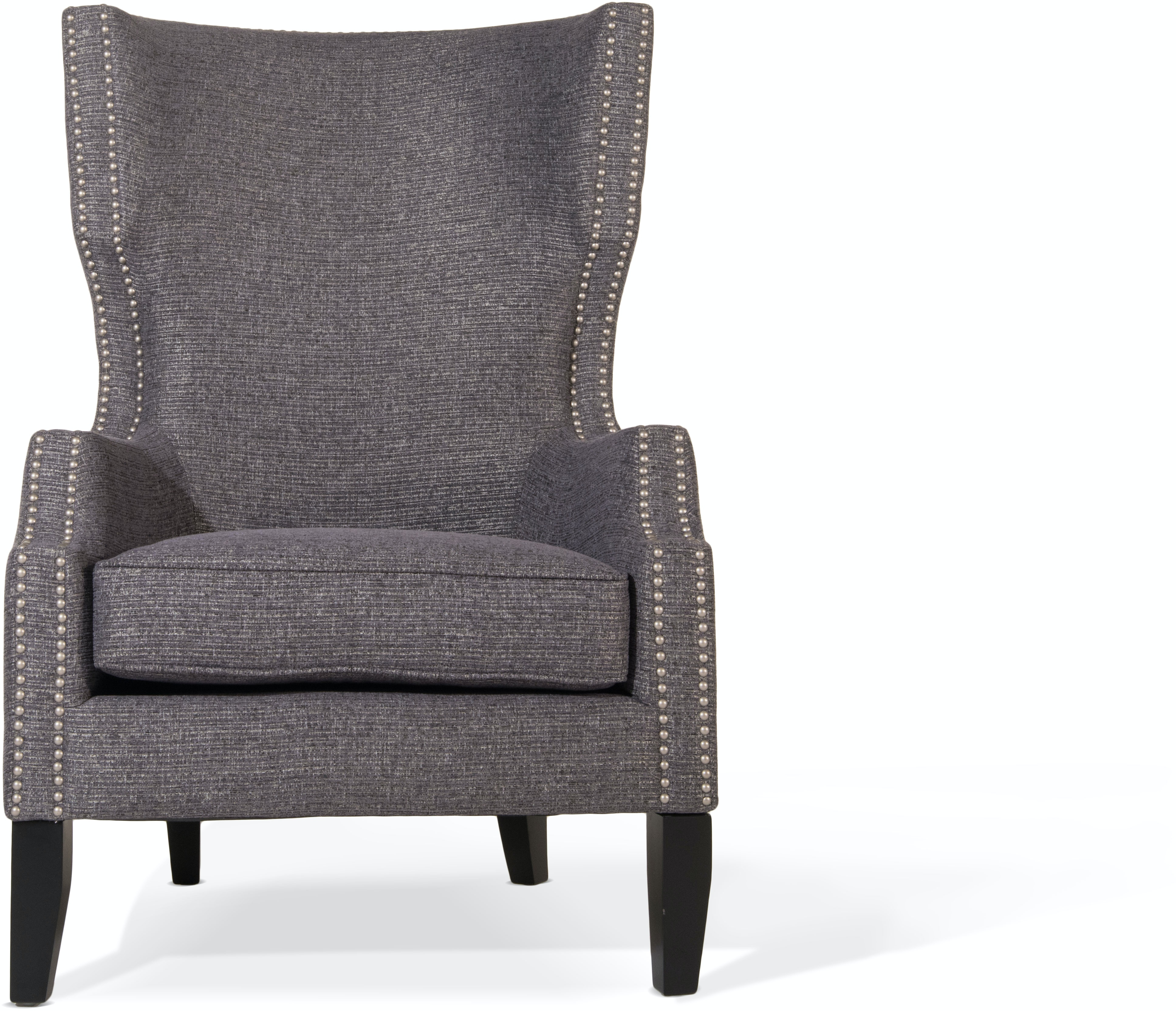 Olliix Living Room Brighton Wing Back Accent Chair