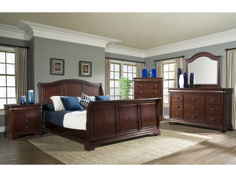 Elements Bedroom Cameron Queen Set, Chest and Mattress Free