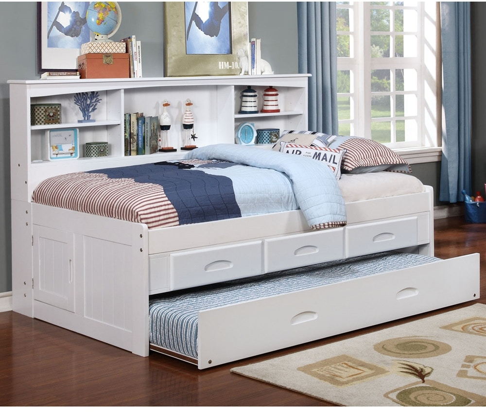 Discovery Furniture Youth Bedroom Carolina White Daybed