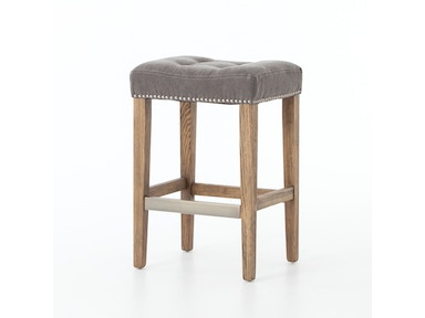 Sean Counter Stool W/Kickplate-Dark Moon