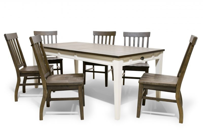 Steve Silver Cayla Dining Table And Six Side Chairs CAYLADINE
