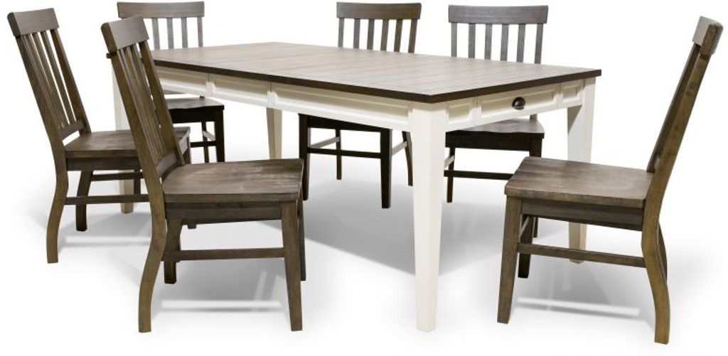 Steve Silver Cayla Dining Set 4 Chairs 2 Extra FREE CAYLADINE