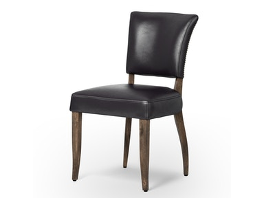 Mimi Dining Chair-Os Black/Weathered Oak