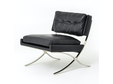 Heathrow Lounge Chair-Os Black