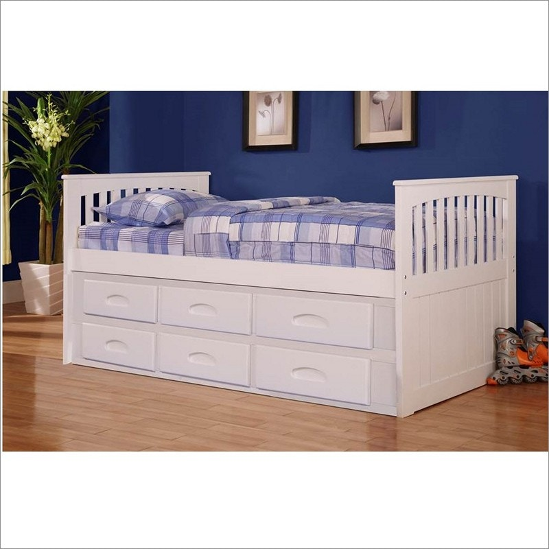 chesapeake 6 drawer storage bed mattress free
