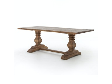 Durham Dining Table 87 W/Oak-Bleached O