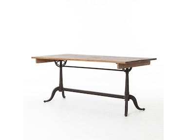 Parisian Dining Table-Bleached Pine