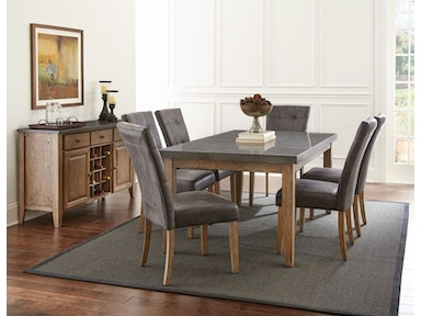 Debby Dining Table And Six Chairs