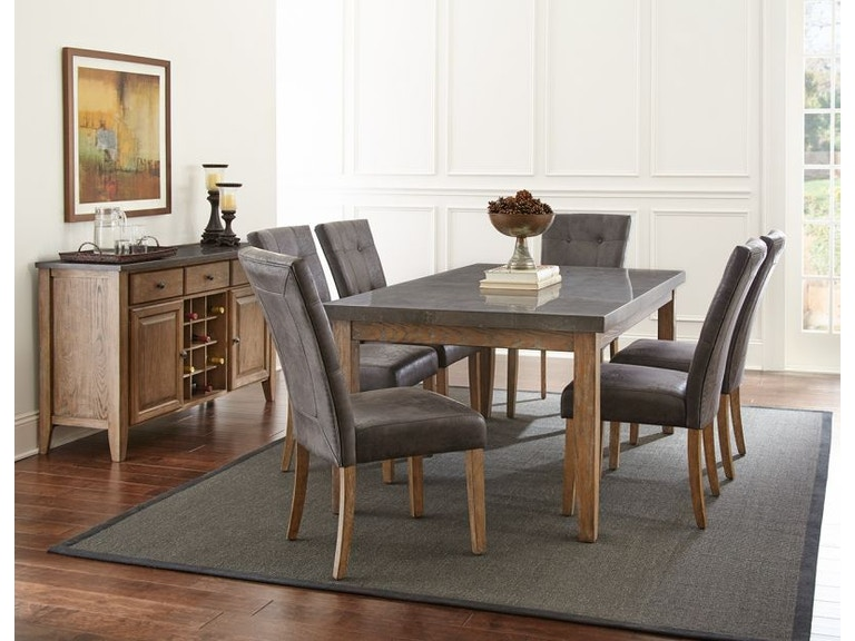 Steve Silver Dining Room Debby Table Base. Steve Silver Dining Room Debby Dining Table and Six Chairs