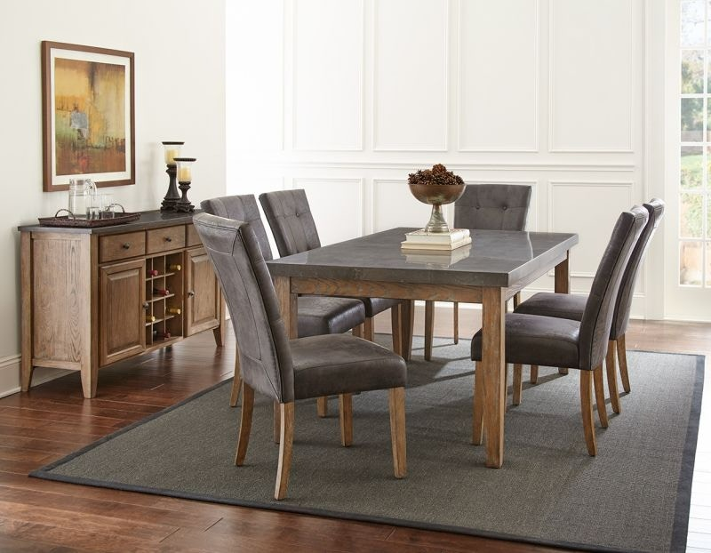 Steve Silver Debby Dining Table And Six Chairs DEBBYDINE