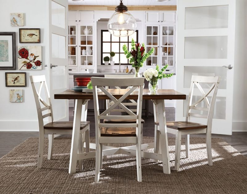 Amelia Five Piece Dining Set & Dining Room \u0026 Dining Table Sets | Bob Mills Furniture