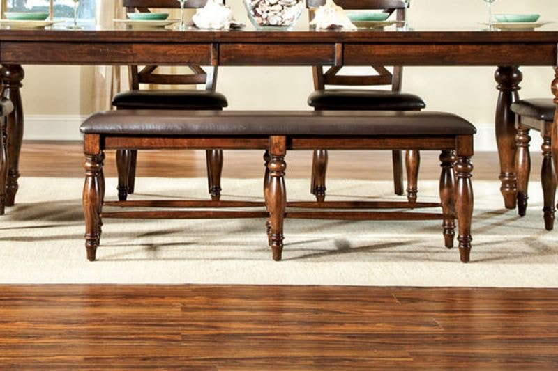 Craft Designs Dining Room Kingston Dining Table with 4 Chairs, Bench Free