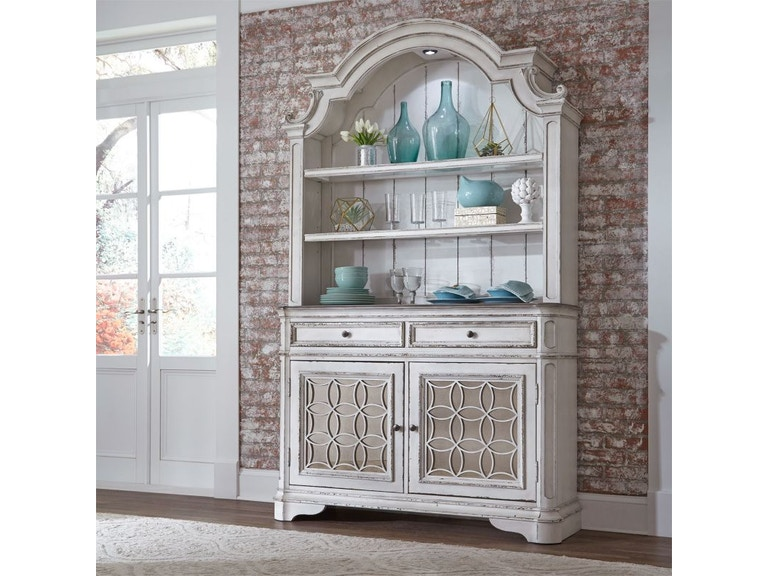 Liberty Furniture Marlow Dining Room Buffet Hutch DIN HTCH MARLOW