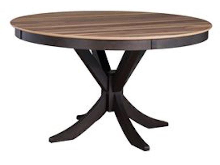 Living Room Walnut Round Dining Table Din Rntble