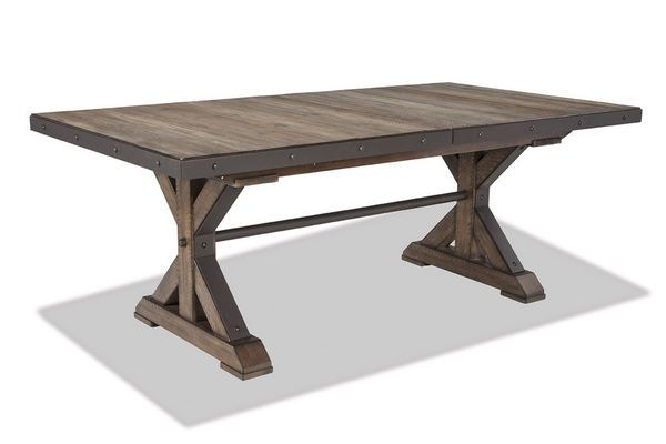 Etonnant Craft Designs Taos Trestle Dining Table DIN TBLE TAOS
