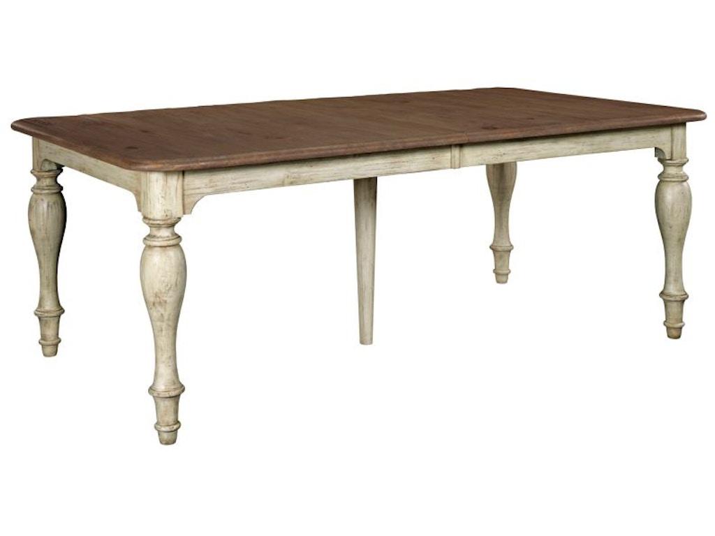 Kincaid Furniture Dining Room Weatherford Dining Table