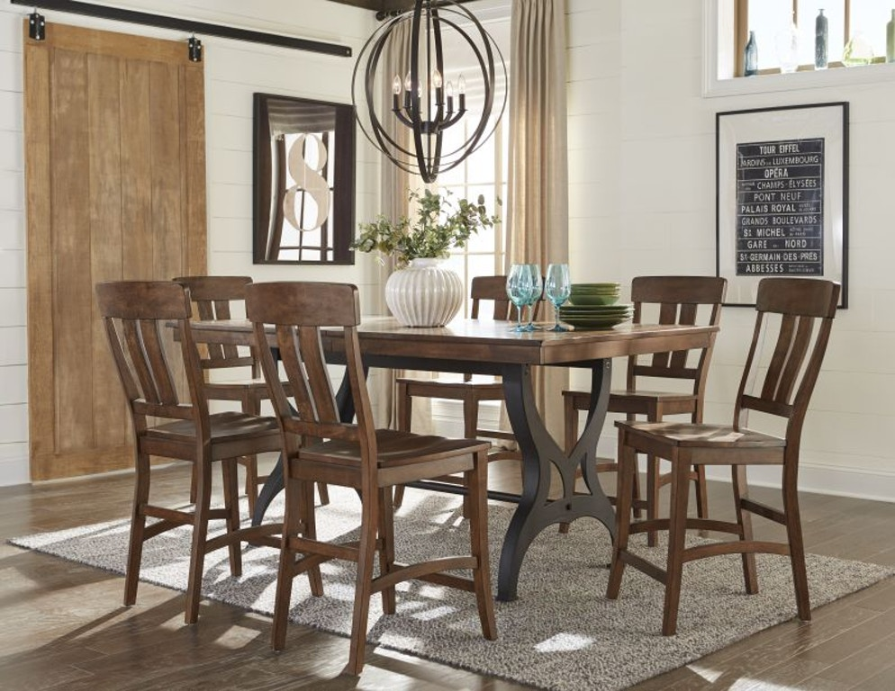 Craft Designs District Pub Table Four Chairs 2 Free