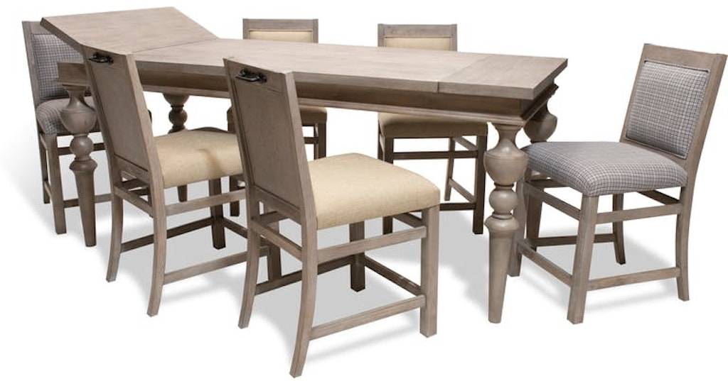 Design Works Fieldstone Pub Table 4 Chairs 2 Extra Free Fieldpub