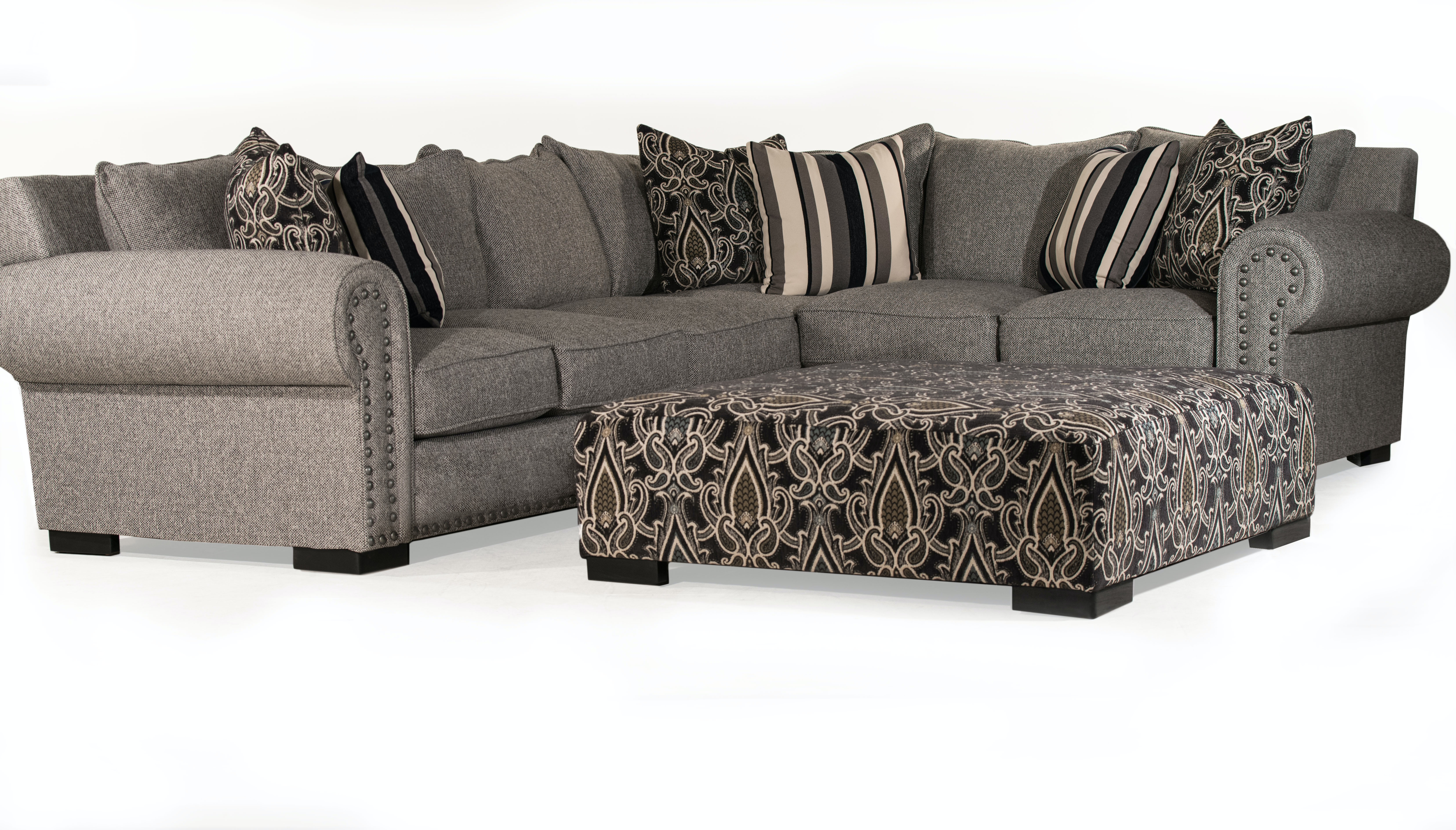 sofa master living room fiona sectional cocktail ottoman free