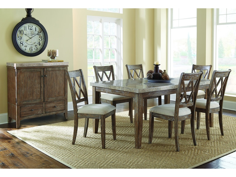 steve silver franco dining table din tble franco - Silver Dining Table