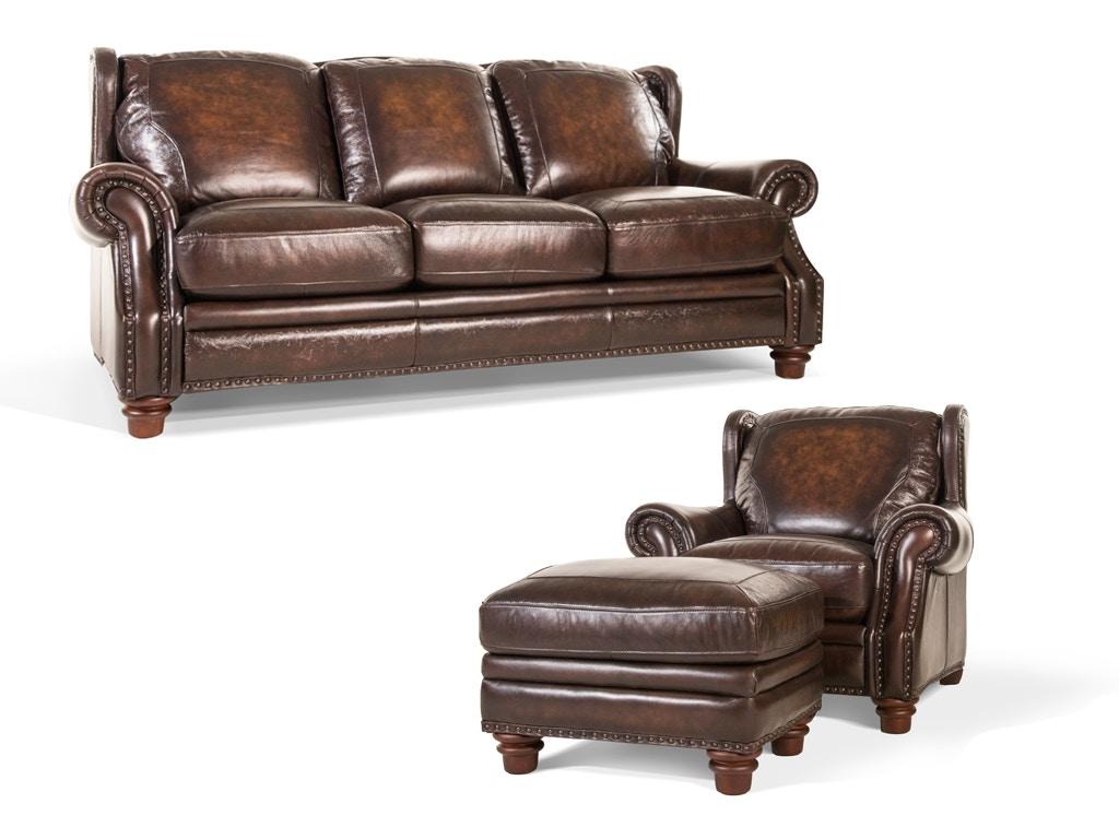 Futura Furniture Leather Sofa Futura Leather E1270 248 207