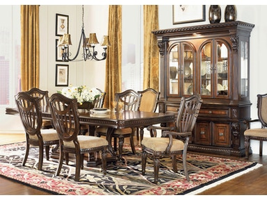 estates dining table 4 side chairs 2 arm chairs