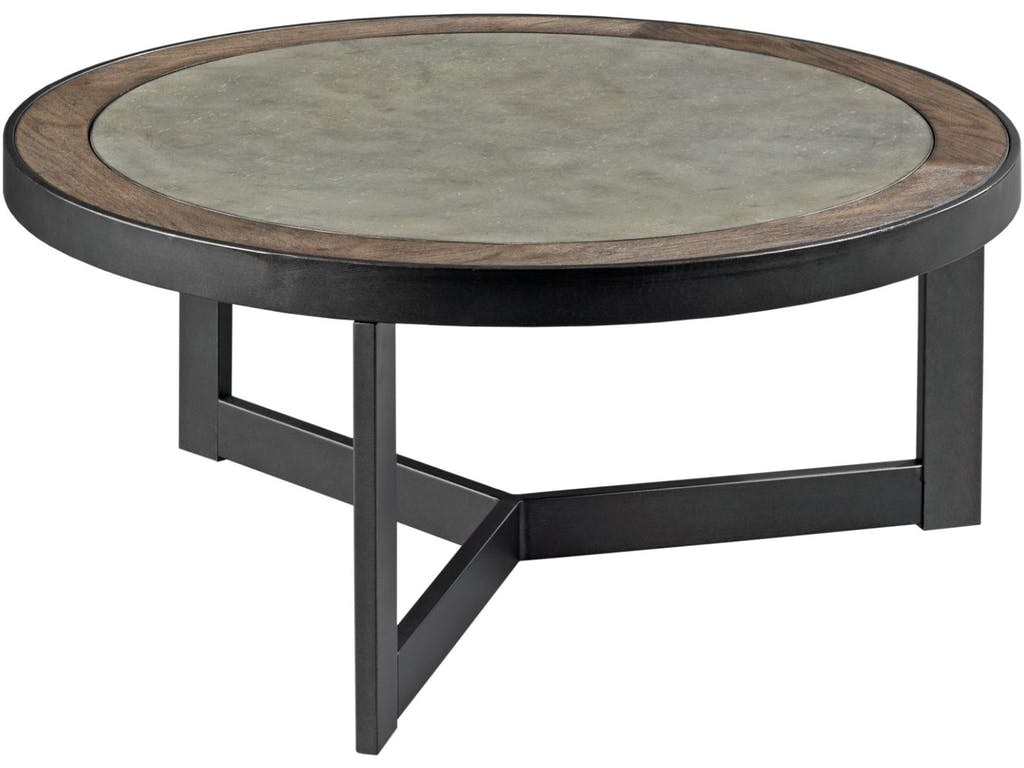 England Furniture Graystone Round Coffer Table OCC CKTL GRAYSTONE