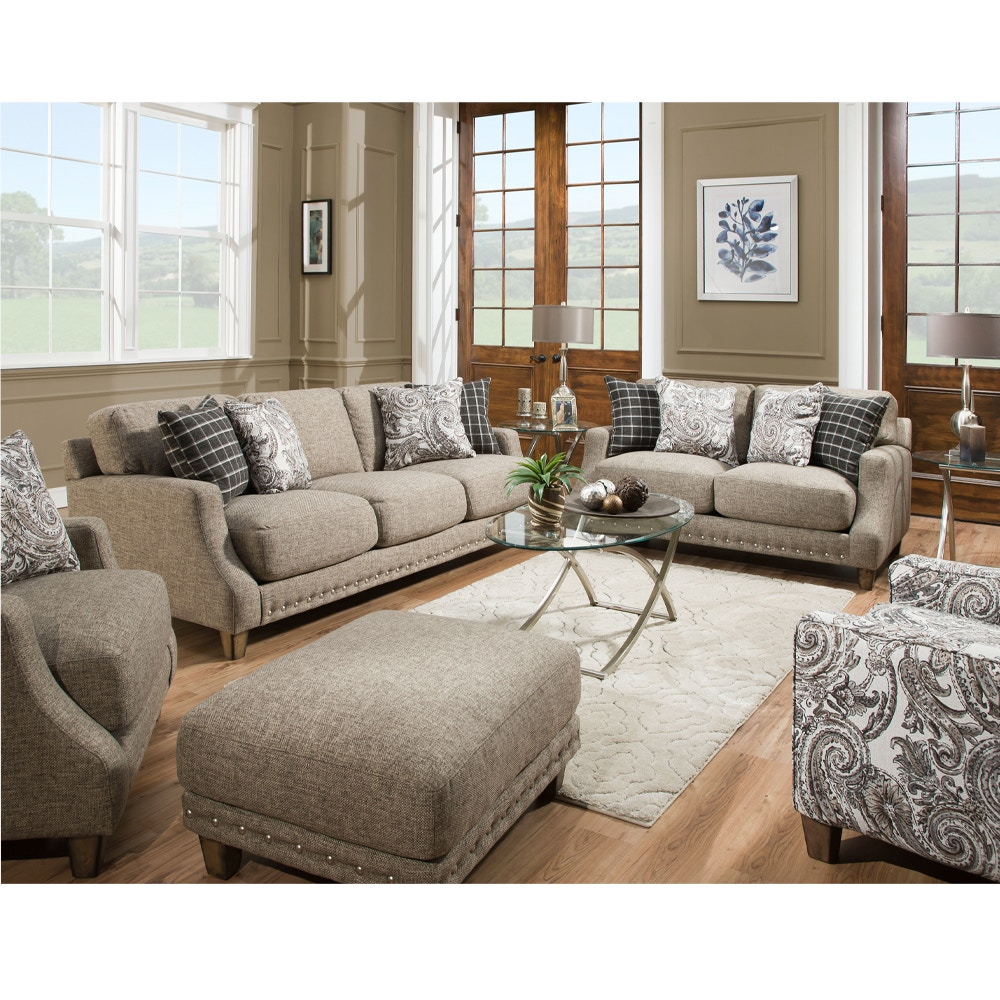 Gregory Sofa And Loveseat