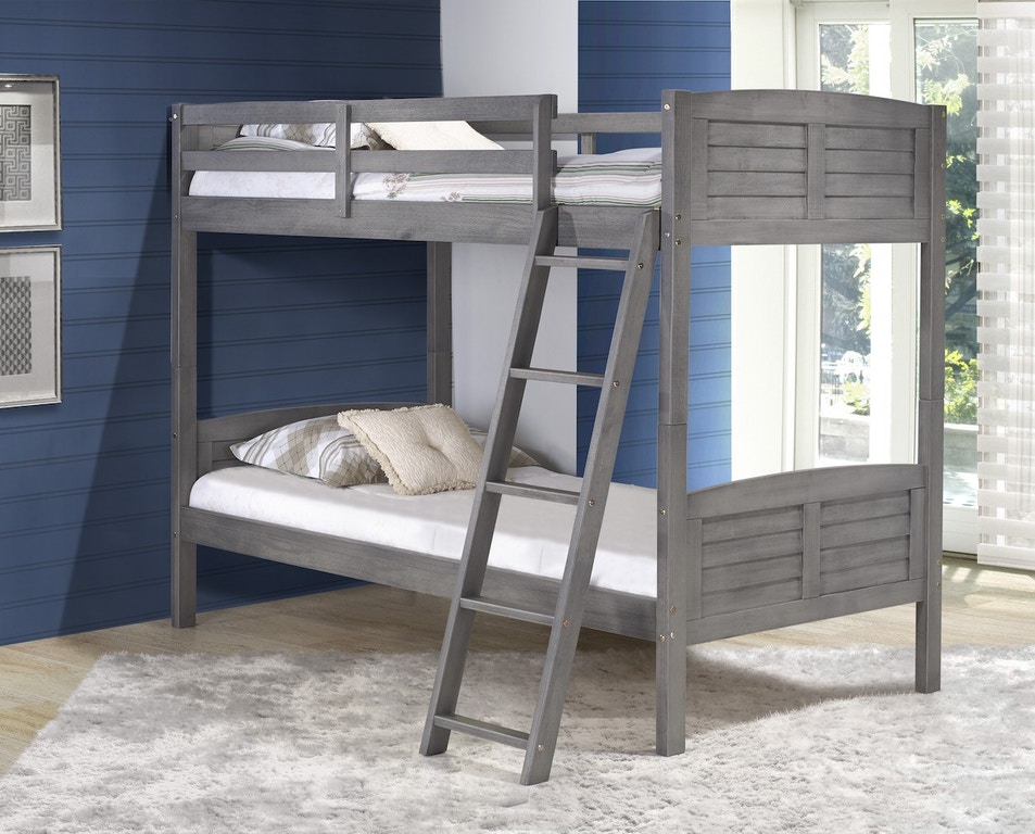 Discovery Furniture Harrison Twin Bunk Bed Mattresses Free