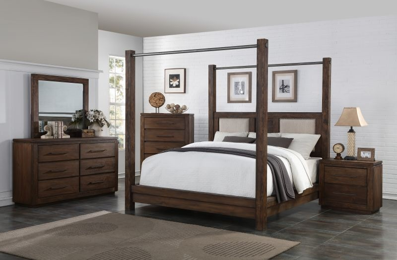Heartstone Queen Bedroom Set, Mattress FREE